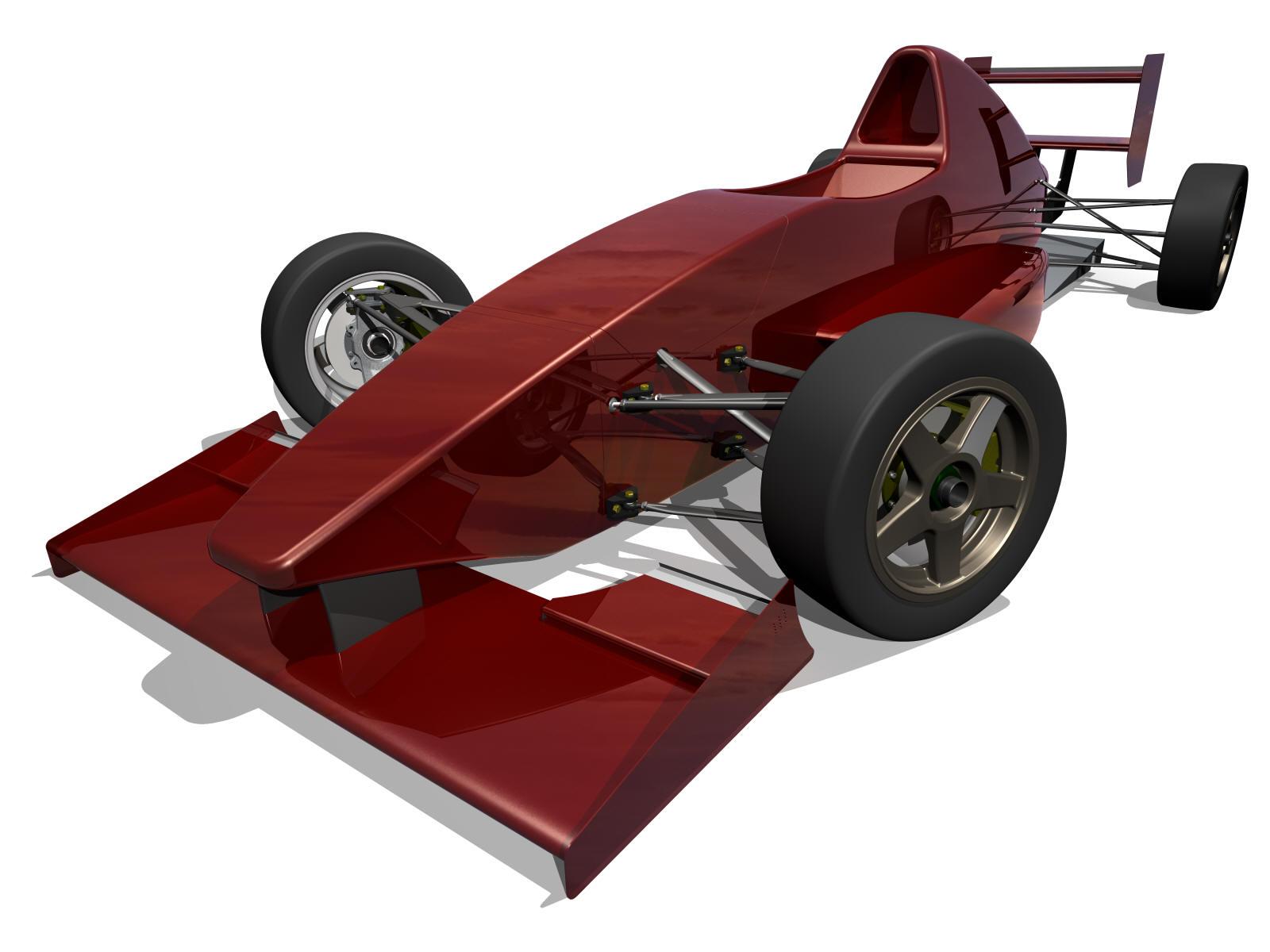 Design car contest - Small Open Wheeled Formula Style Racing Car