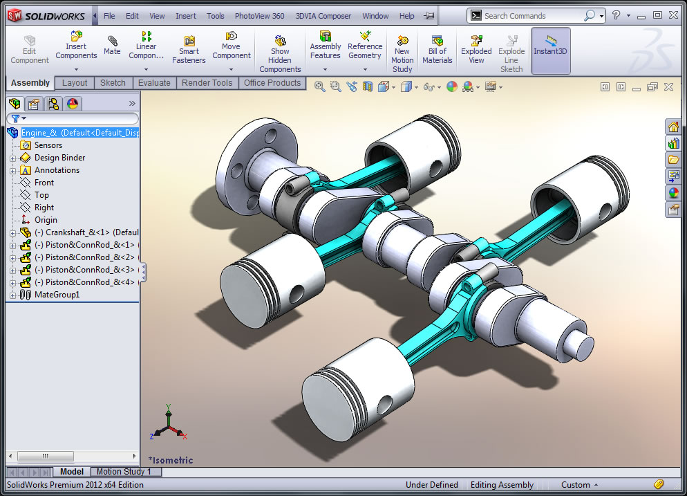 SolidWorks Assembly Modeling Classroom Instructor Led