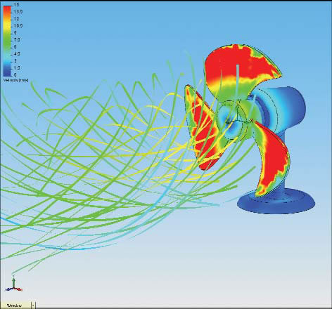 SolidWorks Flow Simulation 2015 - Fluid Flow Simulation/CFD for ...