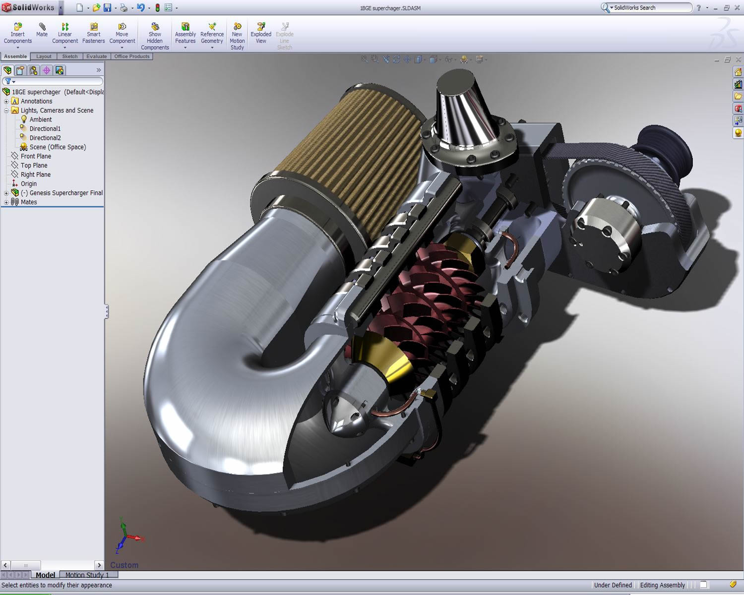 Solidworks 2017 3d design software Cad models