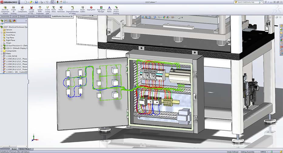 solidworks electrical professional design your 2d and 3d automate wire and cable routing in 3d