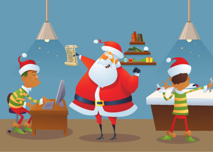 How to Organize Your Business like the Experts at the North Pole