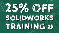 Up to 25% Off SolidWorks Training Classes in June