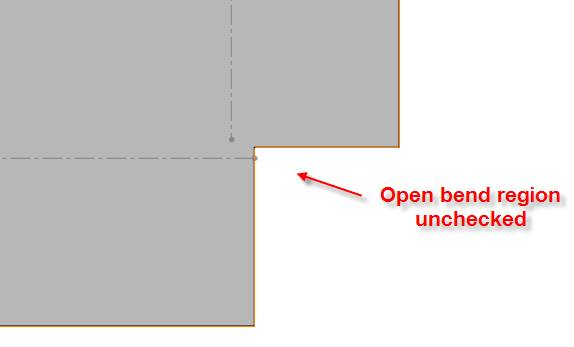 Sheet Metal Closed Corner Options Exposed