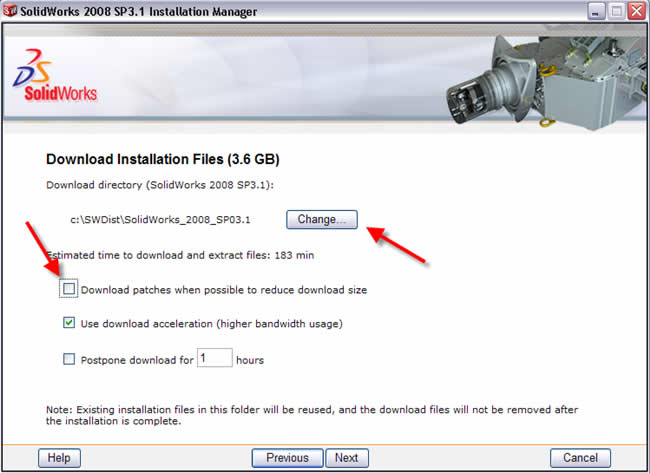 Creating a SolidWorks Install DVD for a recent Service Pack