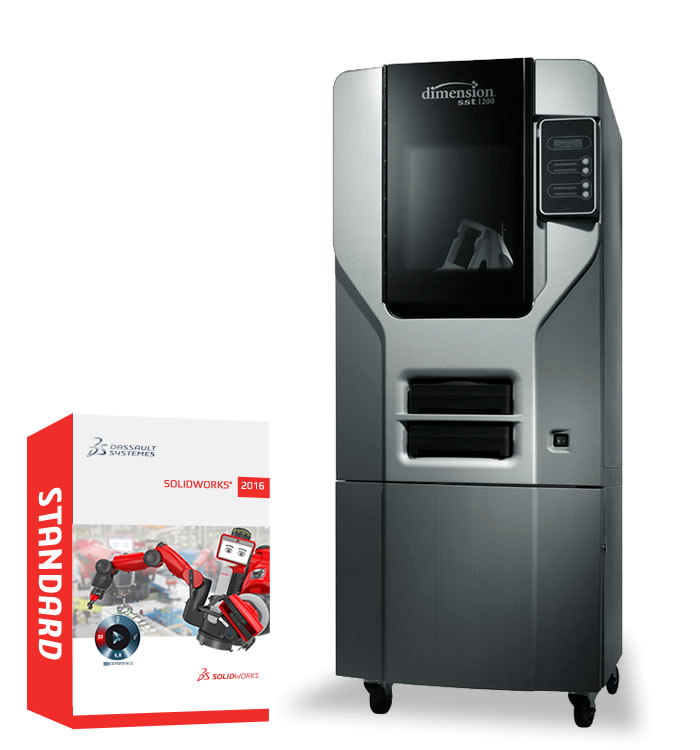 Dimension 1200 with SOLIDWORKS 2016