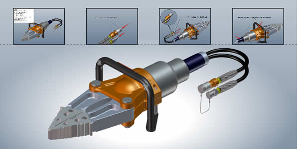 SOLIDWORKS Composer Interface