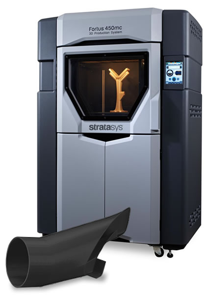 Fortus 450mc 3D Printer