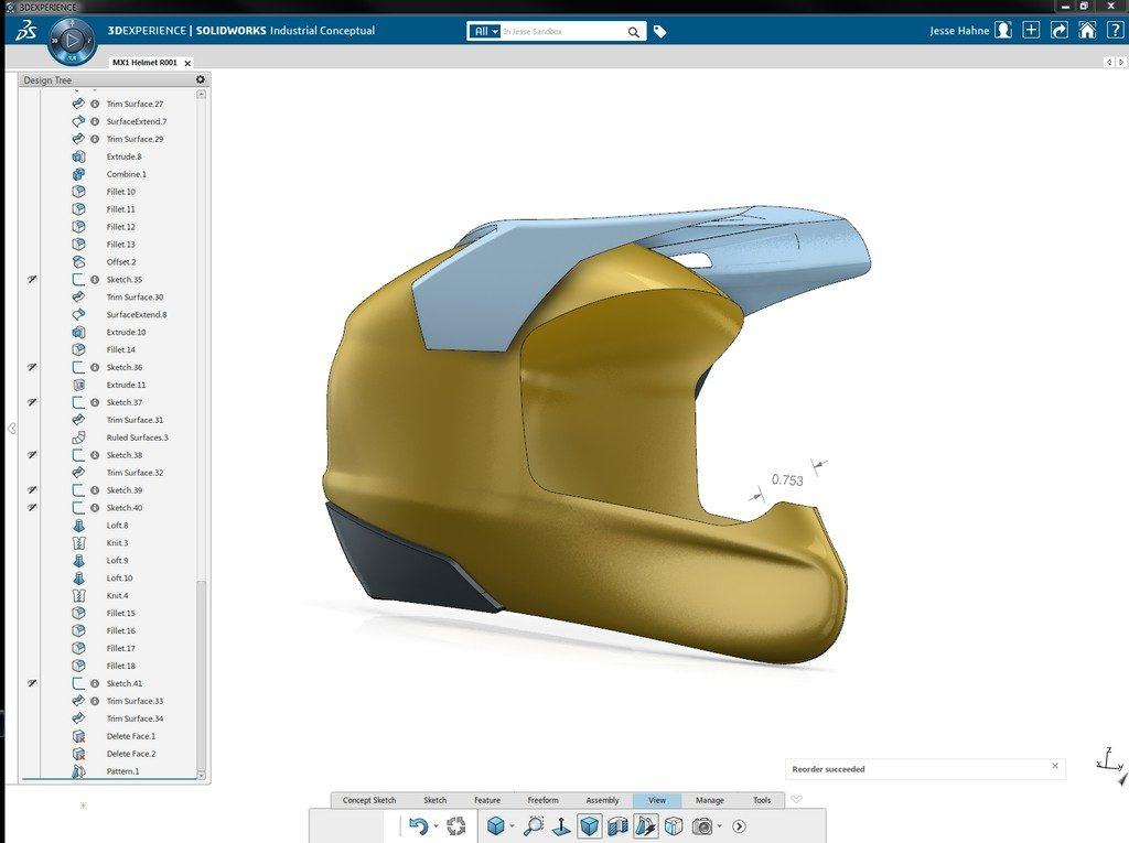 SOLIDWORKS Industrial Designer software