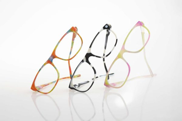 3 pairs propped VeroFlex glasses