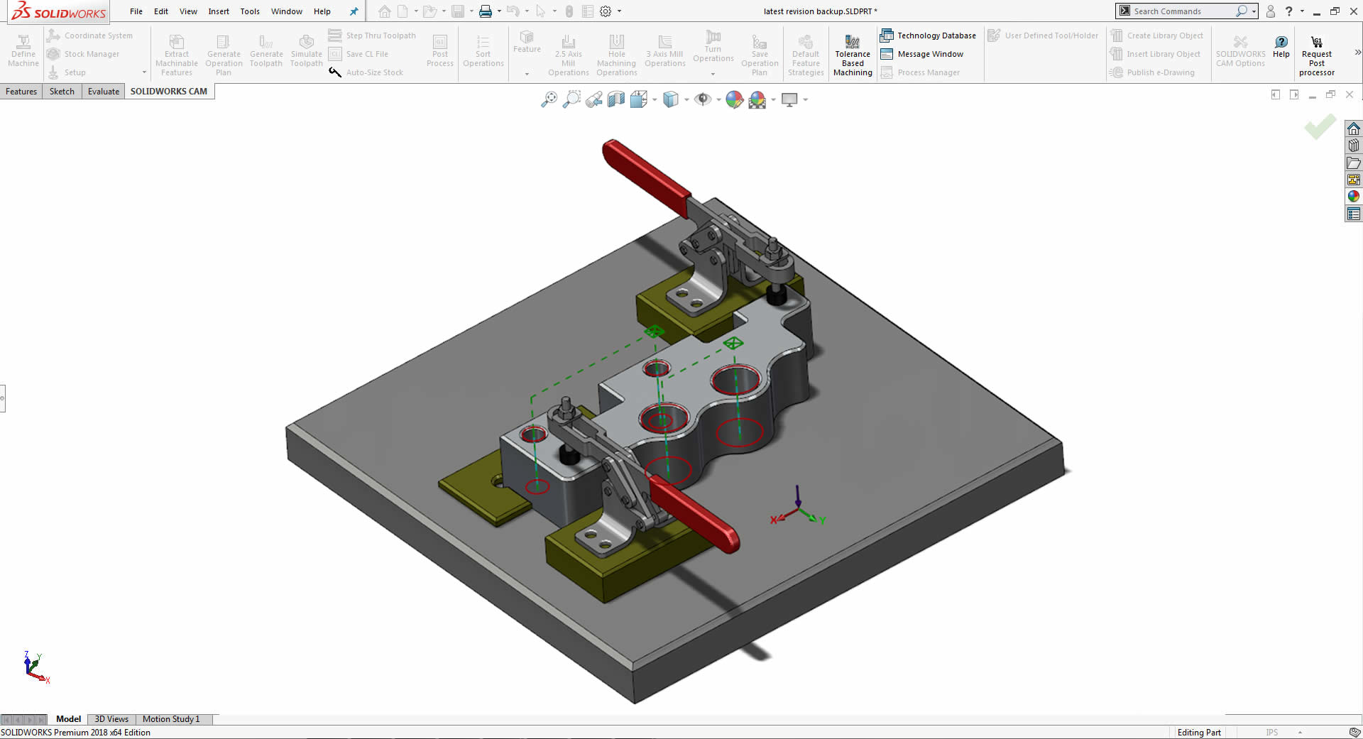 SOLIDWORKS CAM Professional Knowledge Based Machining Software