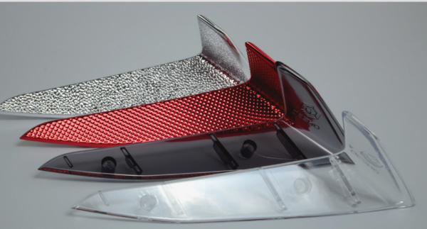 3D printed lens prototypes for automotive