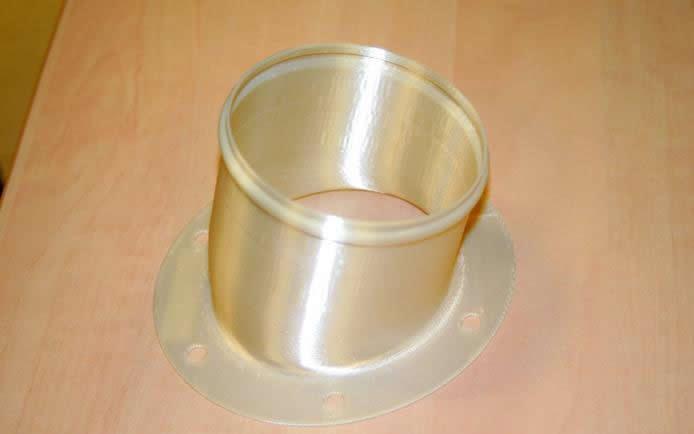 3D printed Air Duct ULTEM 9085