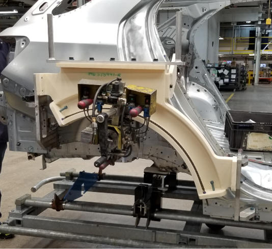 3D printed Arch Hemmer Tool