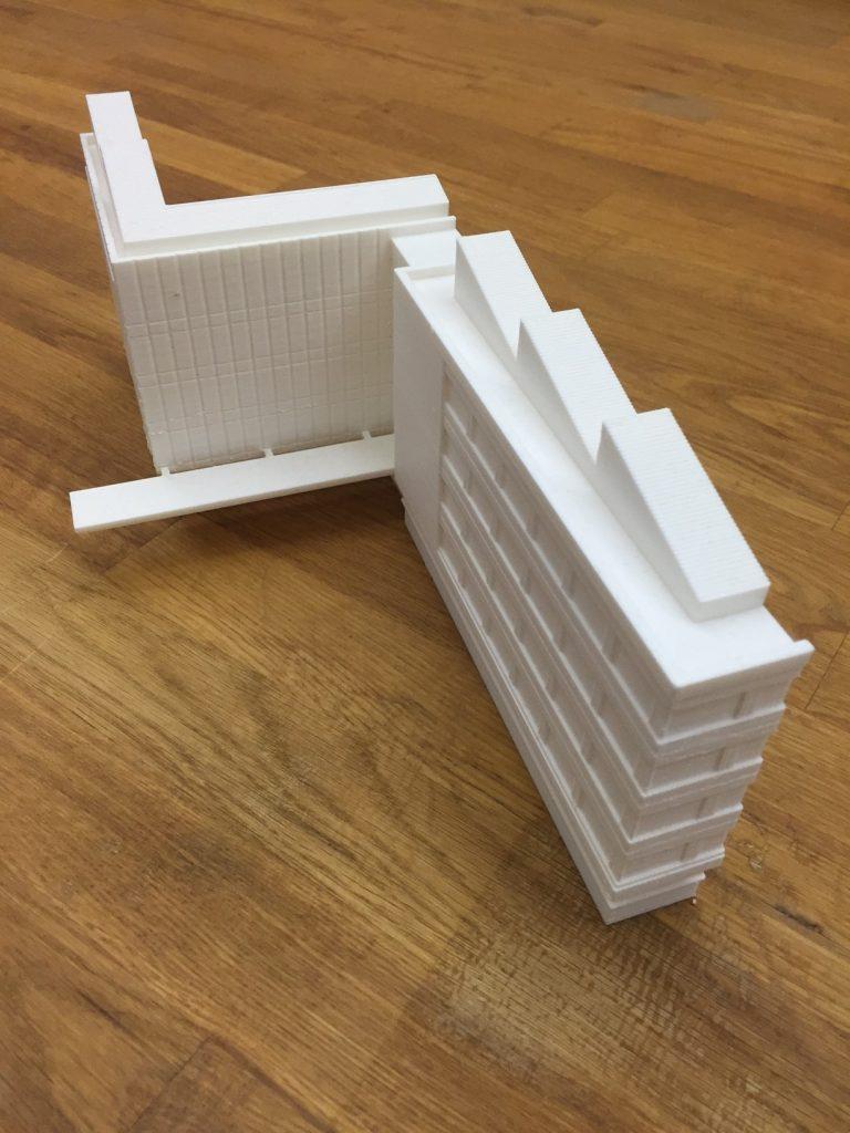 3D Printed Building Model