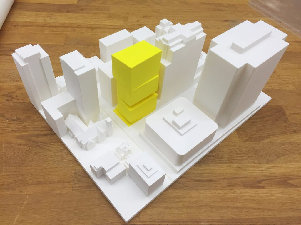 Architectural model-making