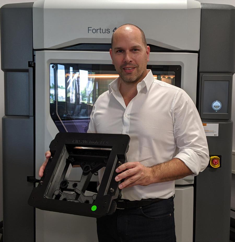 3D printed part Fortus 450