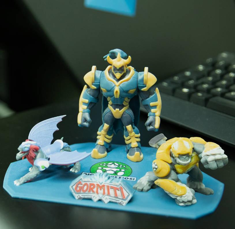 3D Printed Toy Mock-ups