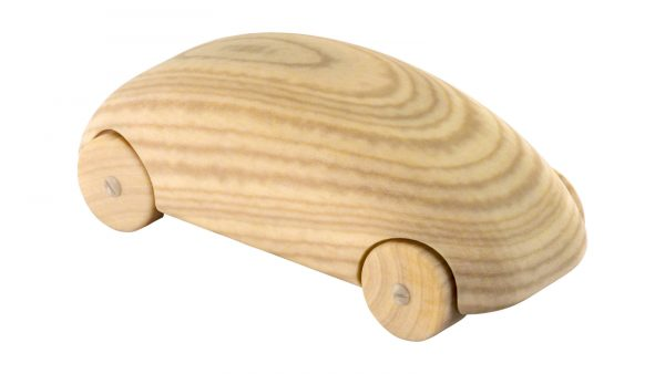 3D printed wooden car