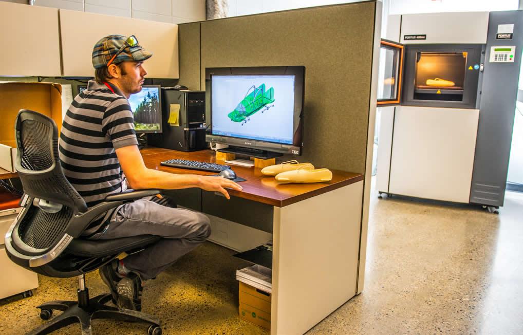 3D Printing Kayak Frame design