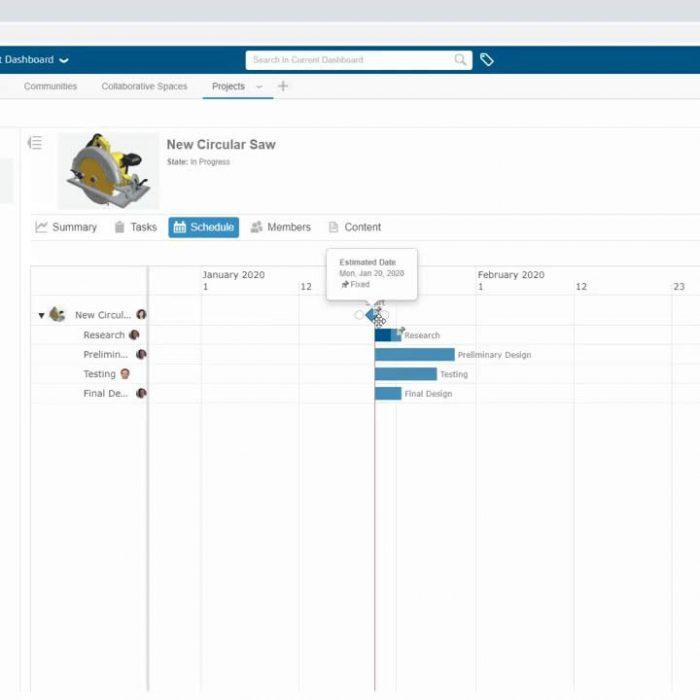 3DEXPERIENCE Project Management