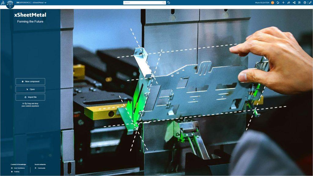 3DEXPERIENCE Sheetmetal