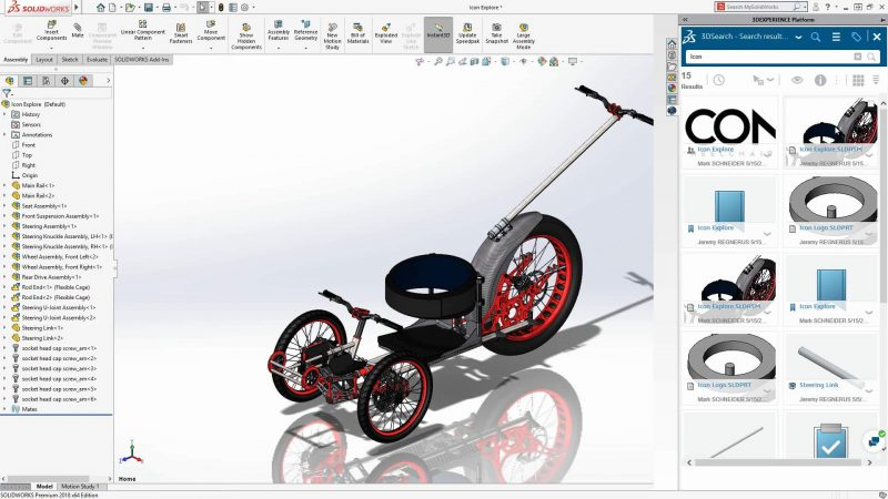 3DEXPERIENCE SOLIDWORKS Add-in