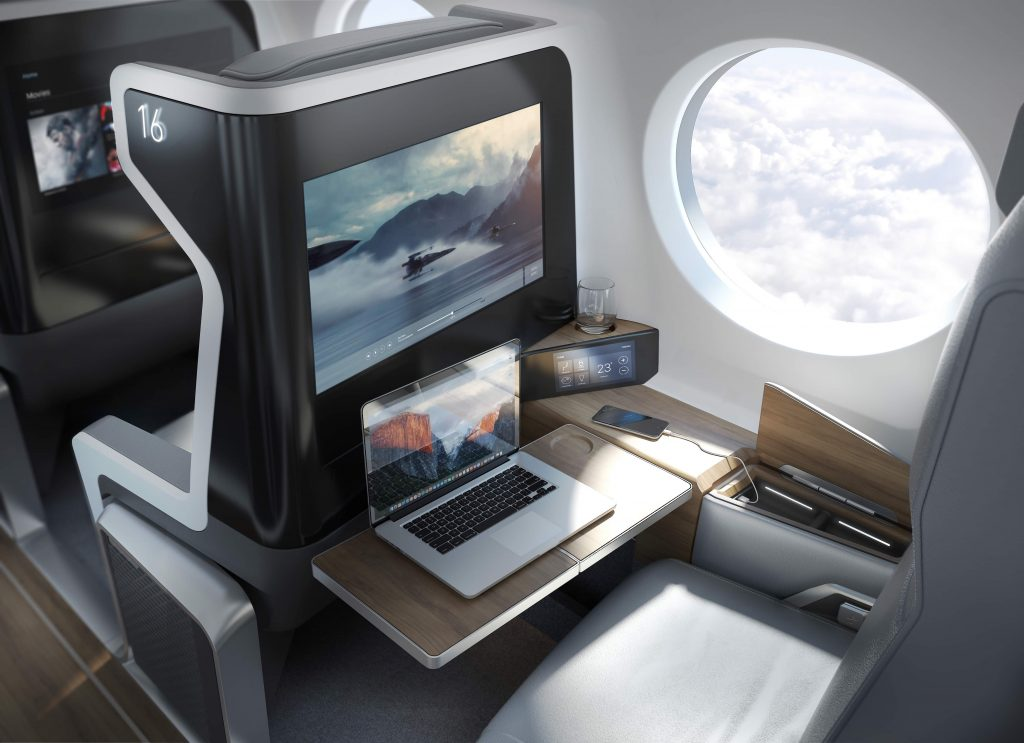 Boom Aircraft Cabin Seat