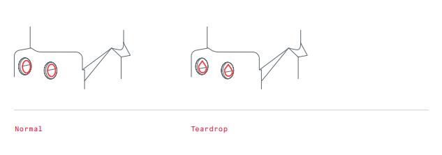 Normal vs Teardrop - Lumenium