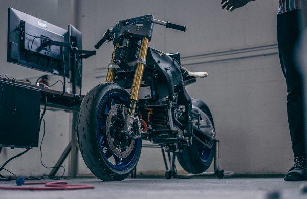 Damon Motorcycles Prototype