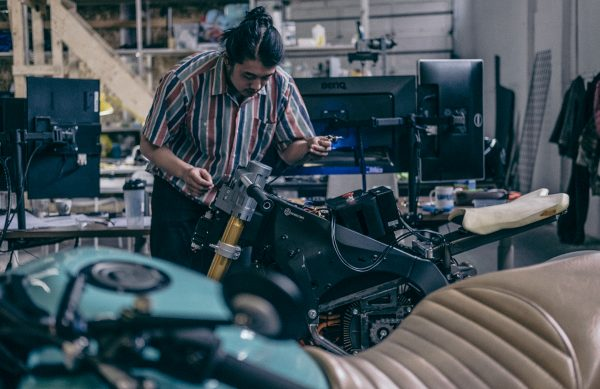 Damon Motorcycles Engineering