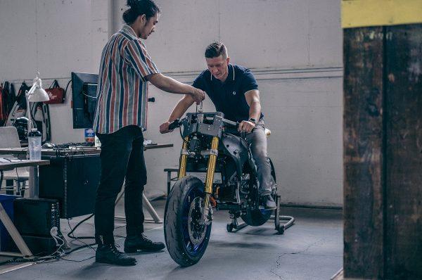 Damon Motorcycles Testing
