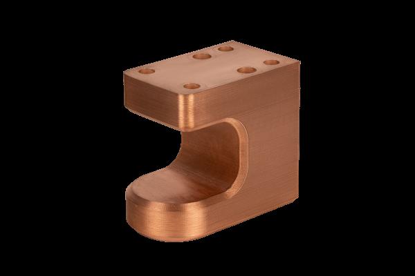 Egar Tool and Die Electrode Holder printed in copper
