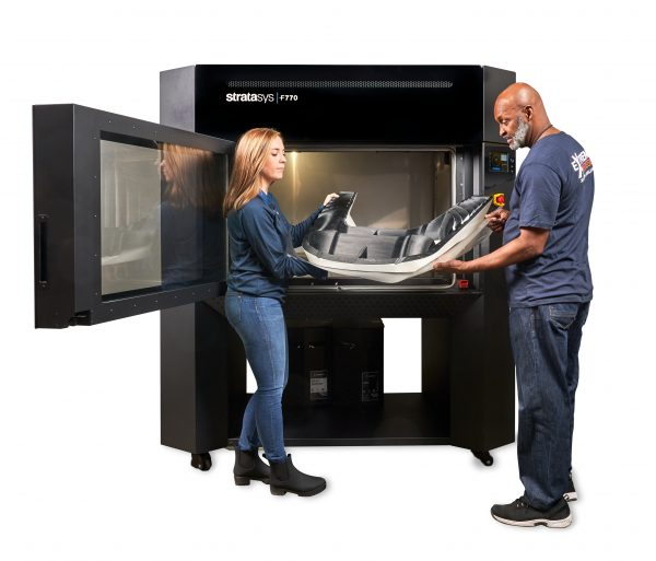 Large-scale 3D printing with the Stratasys F770