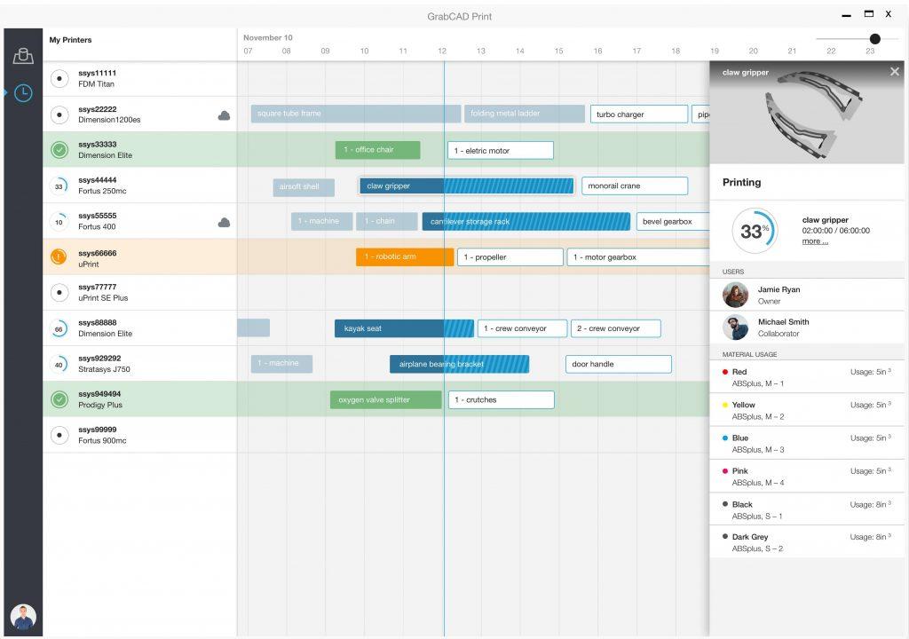 GrabCad Screen Schedule