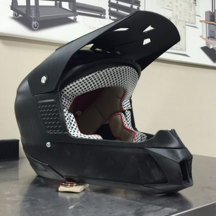 Helmet design in SOLIDWORKS Industrial Designer