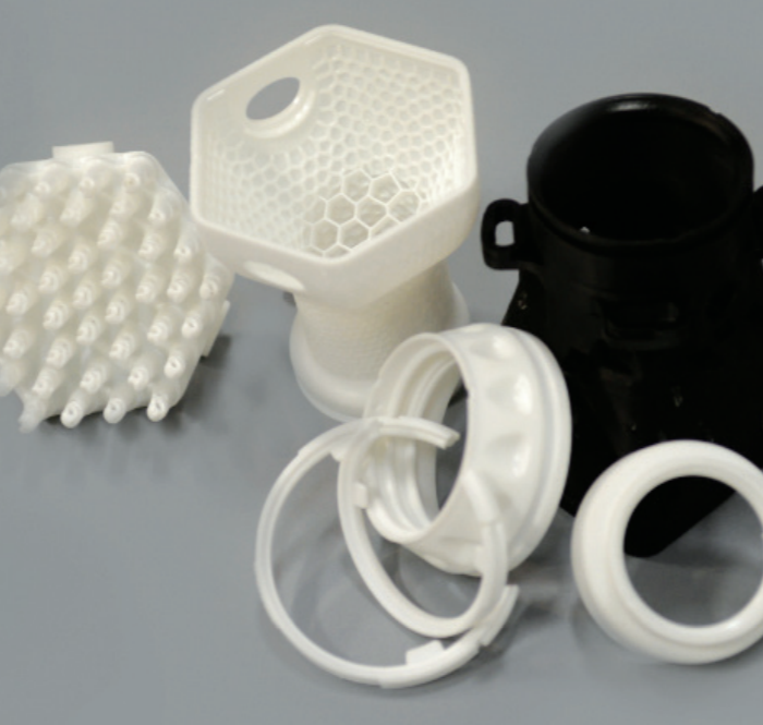 lice treatment device parts produced on Origin One