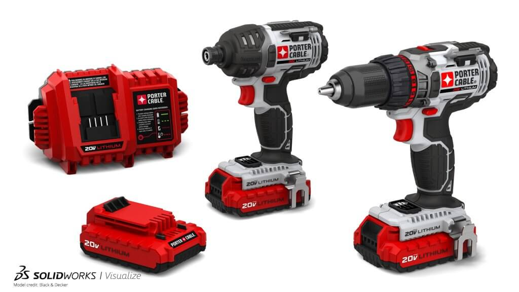 SOLIDWORKS Visualize Example Power Tools