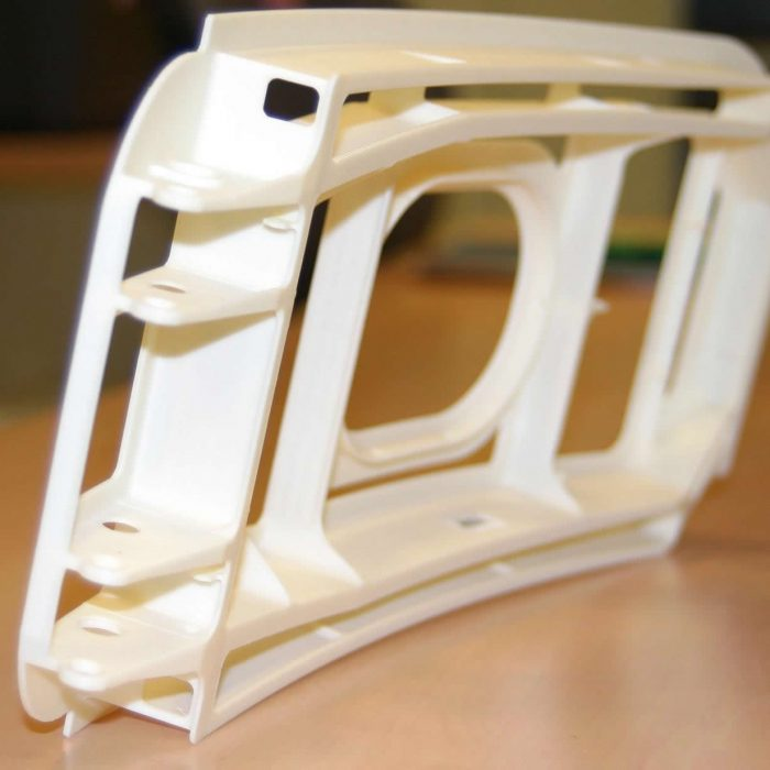 Additive manufacturing production part