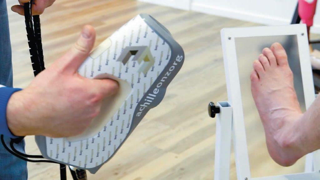 Artec Eva foot scan