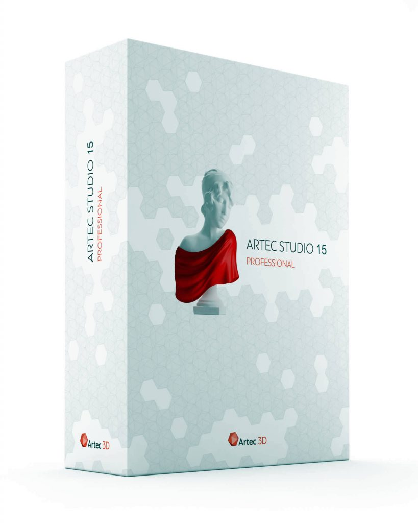 Artec Studio software box