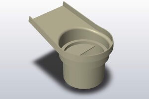 Baffle Surface Model
