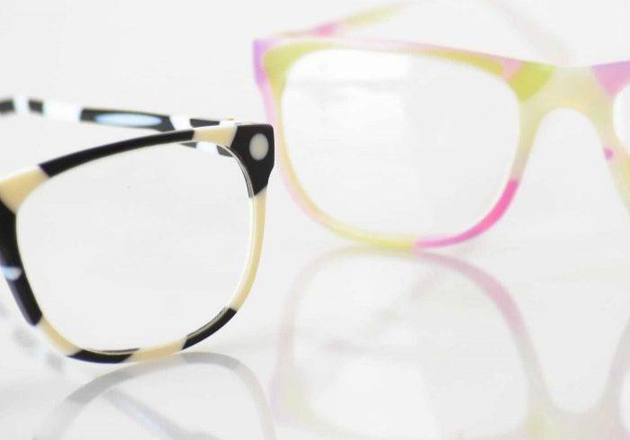 2 pairs detailed VeroFlex glasses