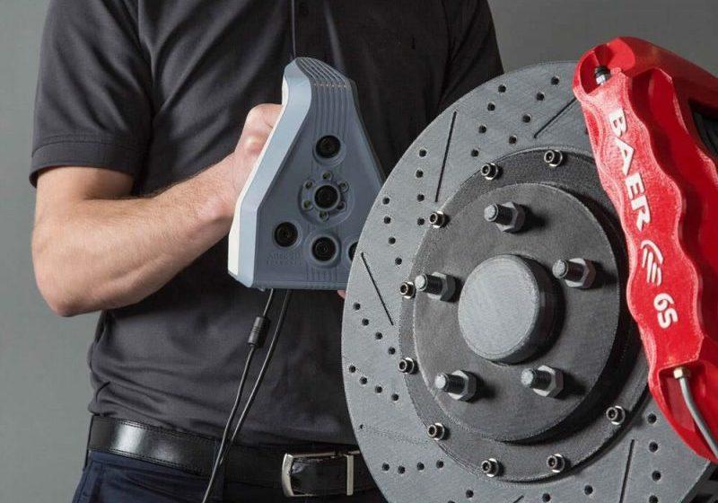 3D Scanning Brake Caliper