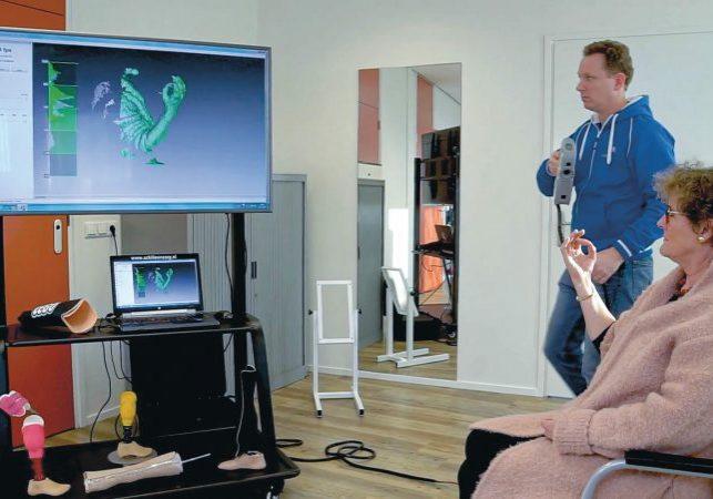 3D scanning custom orthopedics