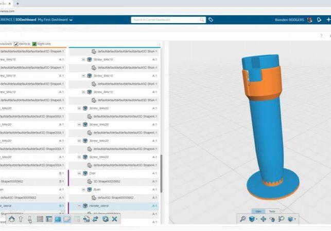 3DEXPERIENCE Compare App