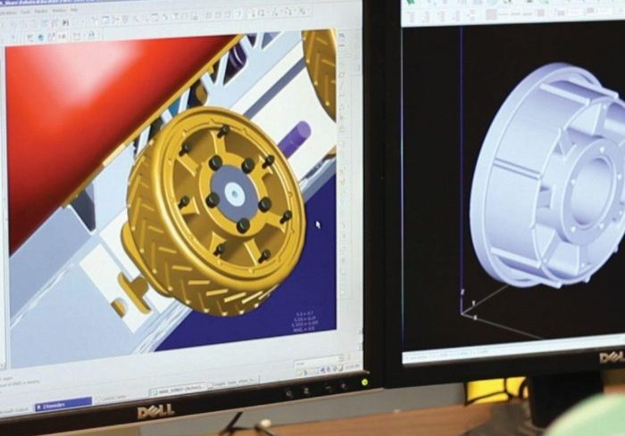 3D Printing Space Vehicle Parts