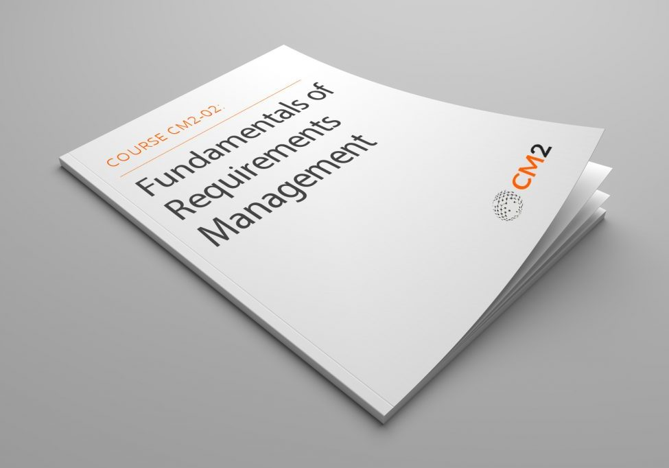 Course CM2-02 Fundamentals of Requirements Management