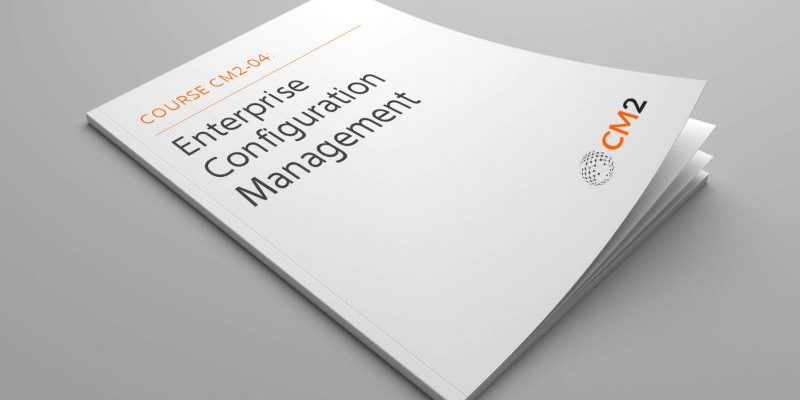 Configuration Management Course CM2-04