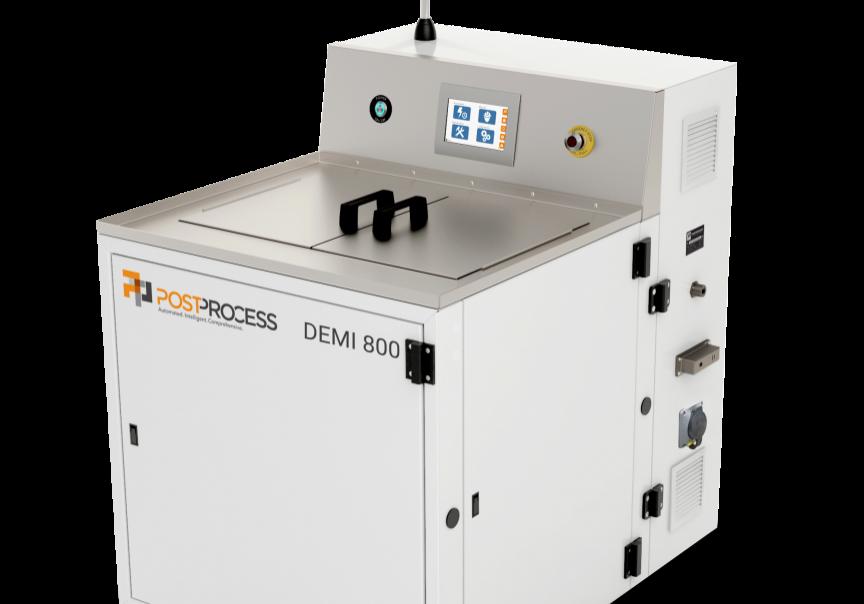 DEMI 800 PostProcess machine